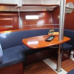 Pearl's Portside Setee and Dining Table