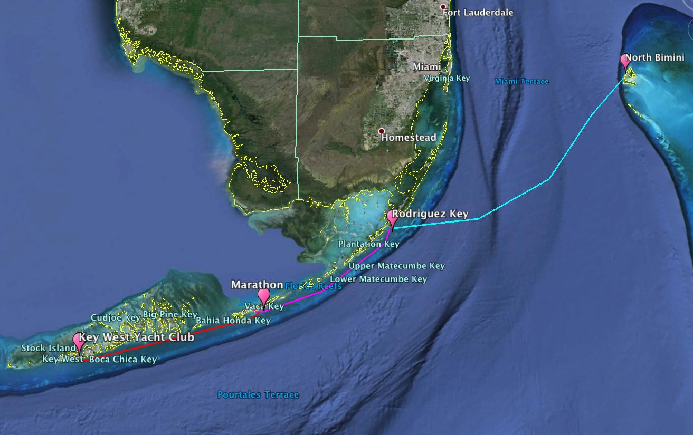 Key West to North Bimini