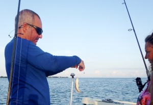 Catching Pin Fish